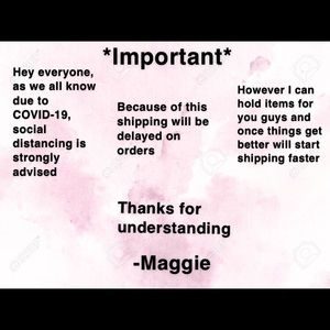Other - Please read if you plan on purchasing items